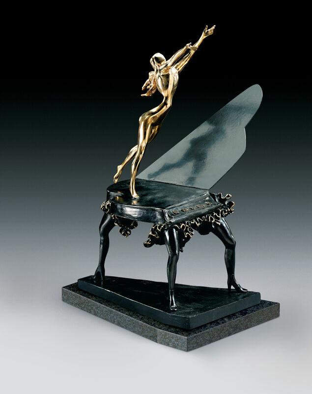Salvador Dalí, 'Surrealist Piano', 1954, Sculpture, Bronze lost wax process, Dali Paris
