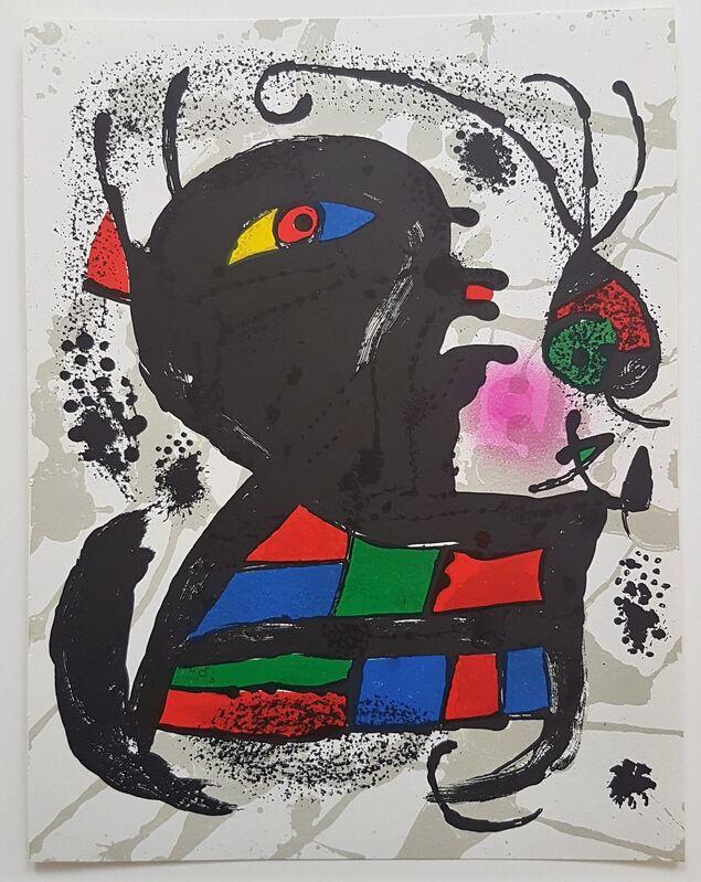 Joan Miró, 'Lithographie Originale V', 1977, Print, Color Lithograph, Cerbera Gallery
