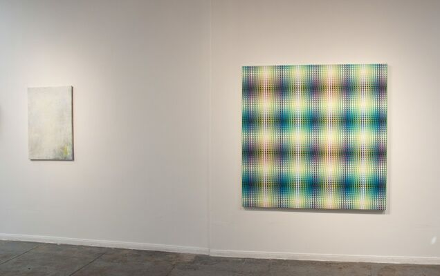 """""""... a pointy toe boot up the backside"""" POST-ABSTRACTION FROM HOUSTON, installation view"""