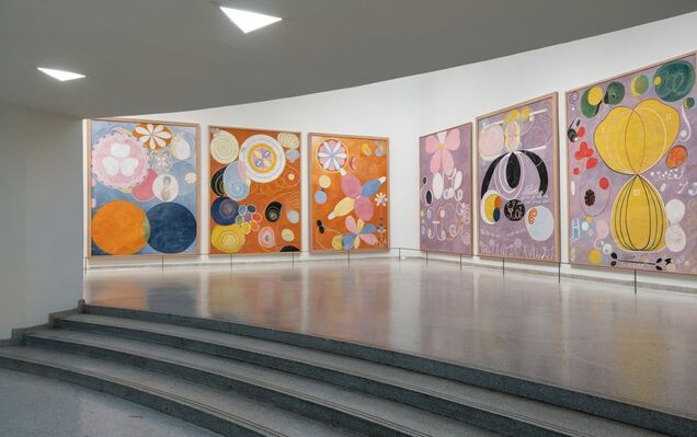 Hilma af Klint: Paintings for the Future, installation view