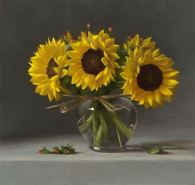 Sarah Lamb, 'Sunflowers', 2017