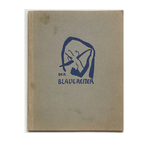 """Andy Warhol, '""""The Blue Rider (Der Blaue Reiter)"""", 1911-12, Exhibition Catalogue, Cover by Kandinsky, Published by Hans Goltz Munich, RARE', 1911-12"""