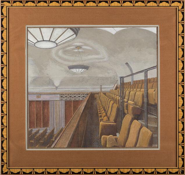 Erik Desmazières, 'La Salle Chopin (de la Salle Pleyel)', 1995