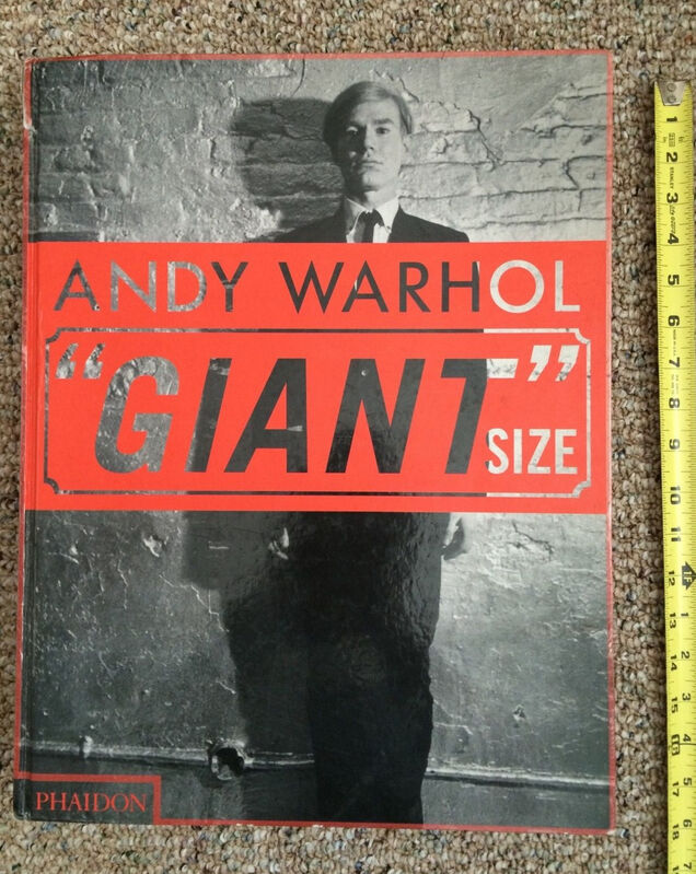 Andy Warhol, 'Andy Warhol GIANT Size (Large Format, Original printing)', 2006, Books and Portfolios, Hardcover book, Woodward Gallery