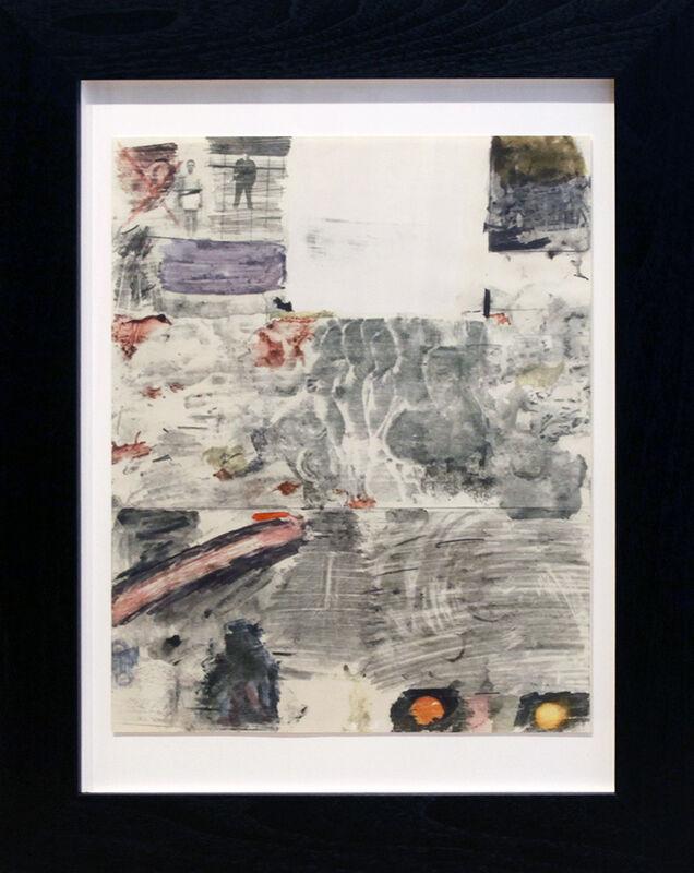Robert Rauschenberg, 'Canto XXIX', 1965, Print, Lithograph, Dolby Chadwick Gallery