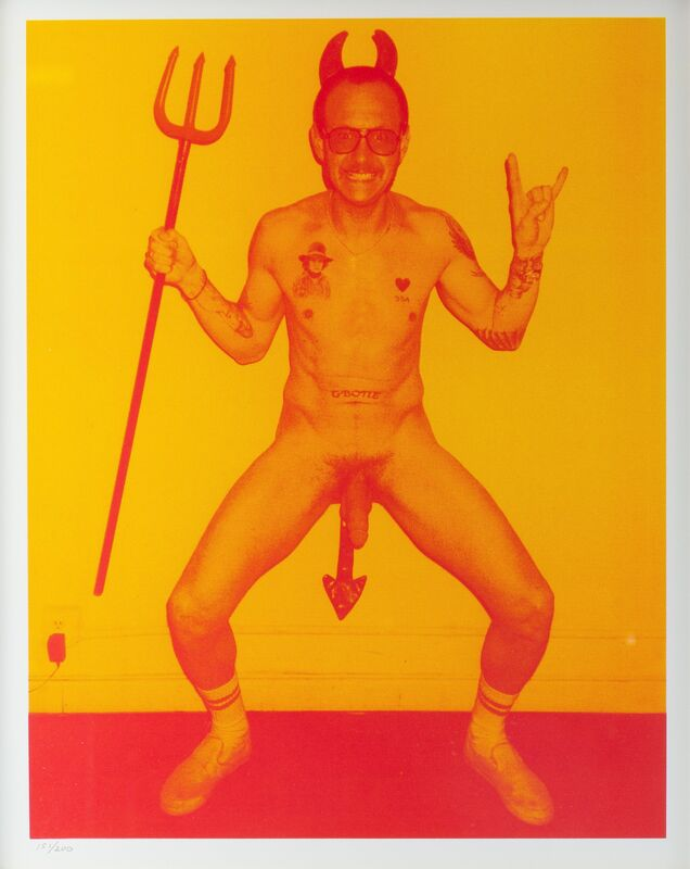 Terry Richardson, 'Untitled', 2004, Print, Silkscreen in colors on paper, Heritage Auctions