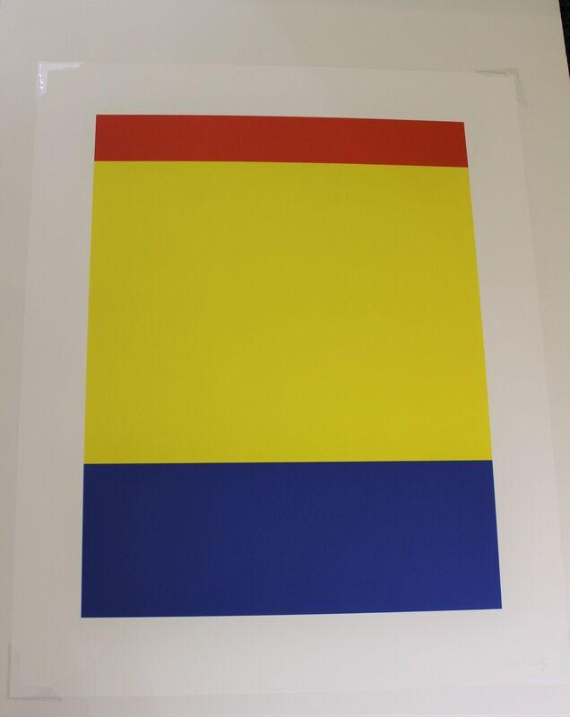 Ellsworth Kelly, 'Red Yellow Blue', 2000, Print, Lithograph, Hal Katzen Gallery