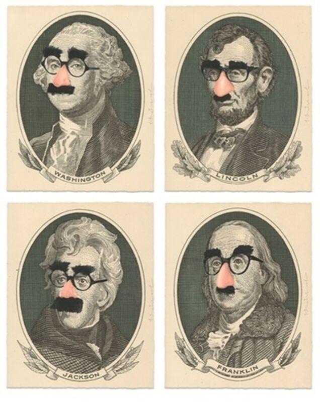 Mr. Brainwash, 'INCOGNITO (Set of 4 Prints)', 2019, Print, Seven-color screen print, Gallery 1890