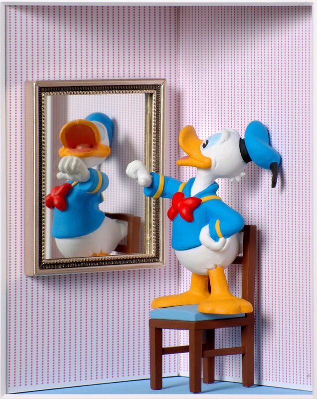 Volker Kühn, 'I'm the Greatest (Donald) ', Mixed Media, Mixed media, Plus One Gallery