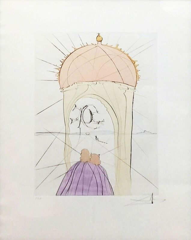 Salvador Dalí, 'MUSEUM OF GENIUS AND WHIM', 1974, Print, ETCHING, Gallery Art