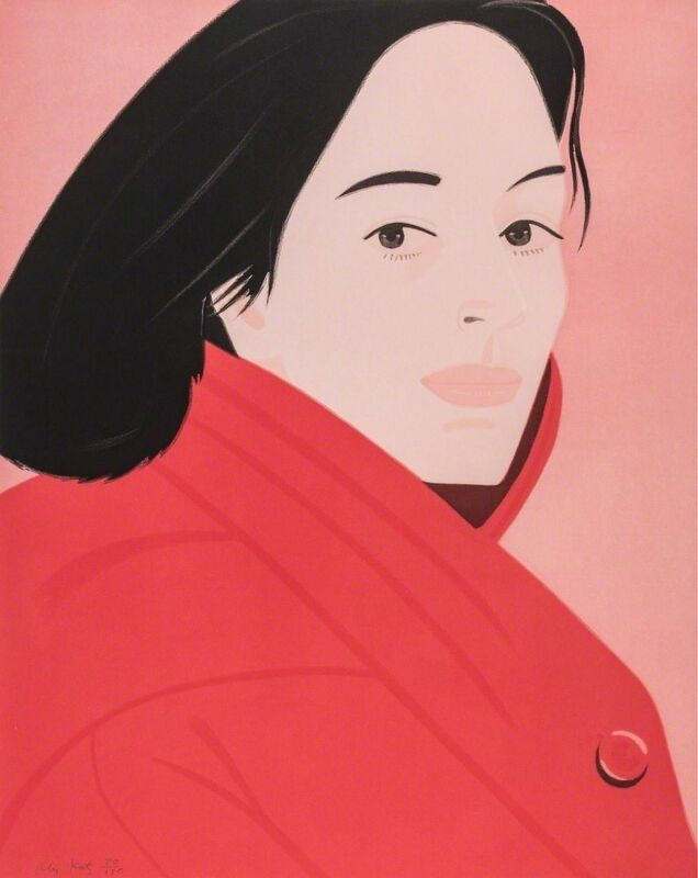 Alex Katz, 'Brisk Day II', 1990, Print, Lithograph, Nikola Rukaj Gallery