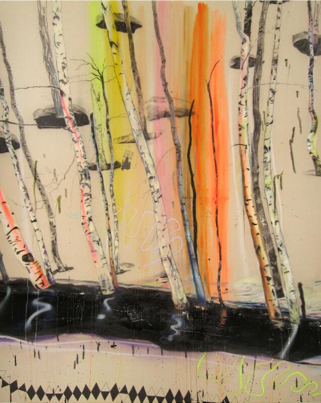Anne Wölk, 'Styx ', 2013, Painting, Oil, acrylic and aerosol on canvas, Alfa Gallery