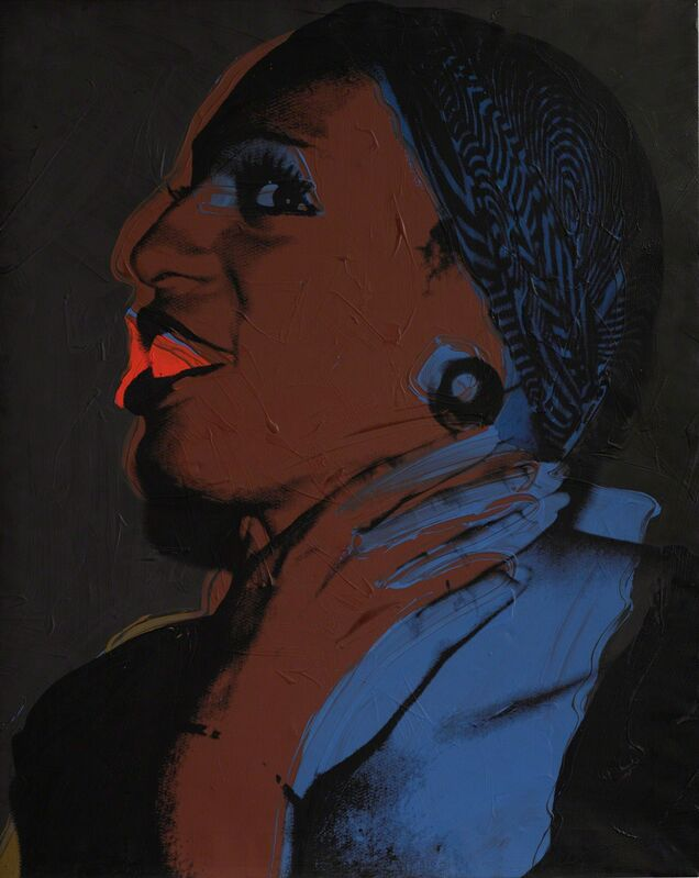 Andy Warhol, 'Ladies and Gentlemen (Wilhelmina Ross)', 1975, Painting, Acrylic and silkscreen ink on canvas, Sotheby's: Contemporary Art Day Auction