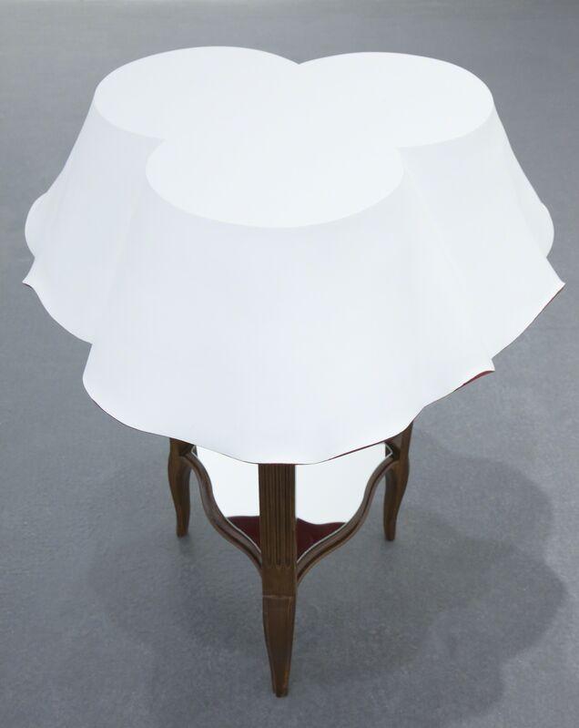 Mette Björnberg, 'Spegling / Mirroring', 2013, Sculpture, Painted wood, textile, Galleri Magnus Karlsson