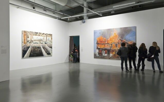 Past And Future, installation view