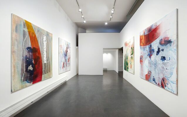 Sean Crossley. The history of bleach, installation view