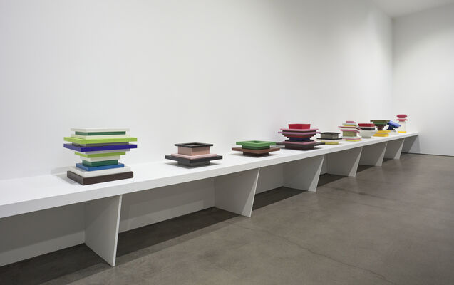 Over the Influence and Friedman Benda present Ettore Sottsass, installation view