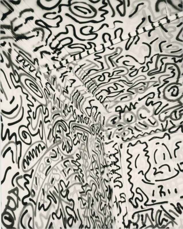 Andy Warhol, 'Andy Warhol, Photograph of Keith Haring's Pop Shop in Soho, 1986', 1986, Photography, Silver gelatin print, Hedges Projects