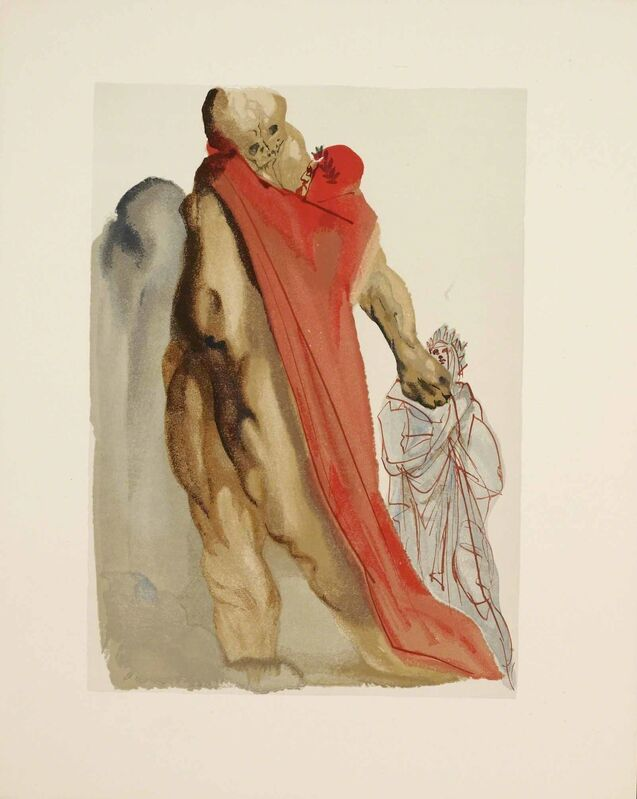 Salvador Dalí, 'Purgatory Canto 5 (The Divine Comedy)', Print, Wood engraving, Martin Lawrence Galleries