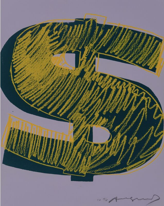 Andy Warhol, '$ (1) F&S II.276 Trial Proof', 1982, Print, Unique Screenprint on Lenox Museum Board, Fine Art Mia