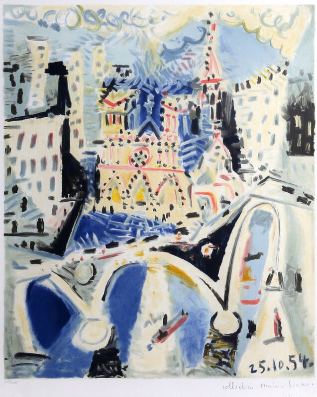 Pablo Picasso, 'Notre Dame', 1979-1982, Print, Lithograph on Arches, RoGallery