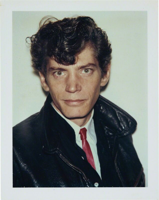 Andy Warhol, 'Robert Mapplethorpe', 1983, Photography, Unique Polaroid Polacolor Type 108 print, Phillips