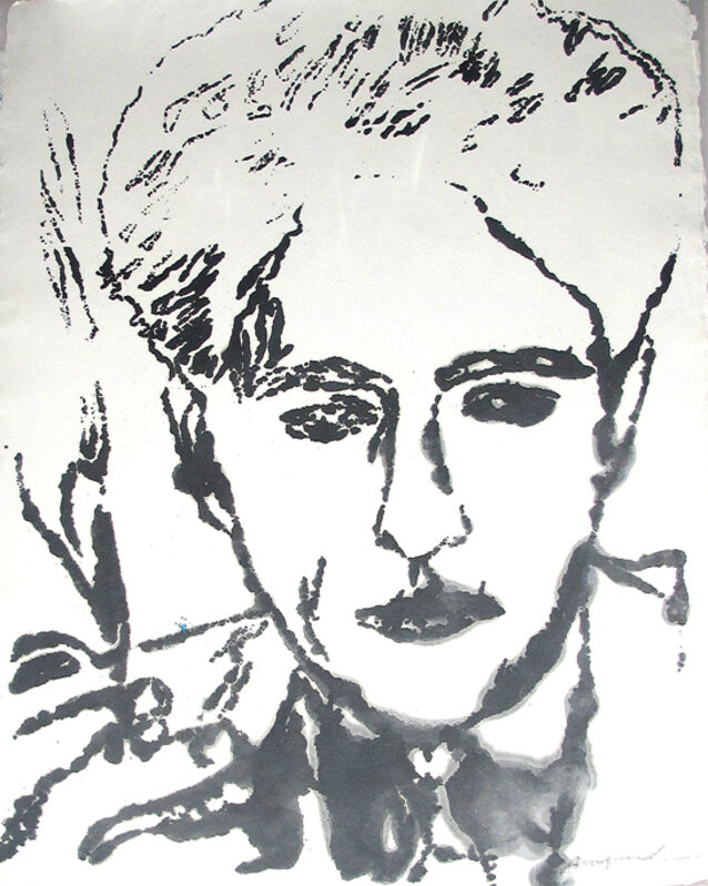 Andy Warhol, 'Jean Cocteau', 1983, Print, Unique screenprint, Hamilton-Selway Fine Art