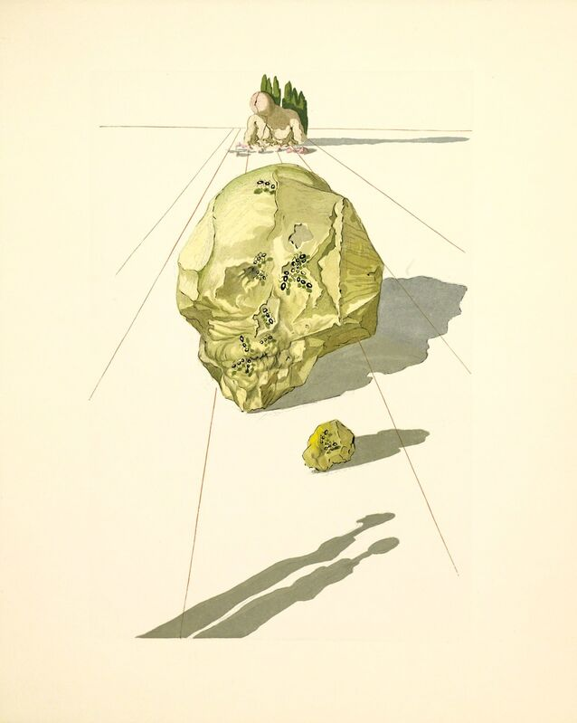 Salvador Dalí, 'Hell Canto 33 (The Divine Comedy)', 1959-1964, Print, Wood engraving, Martin Lawrence Galleries