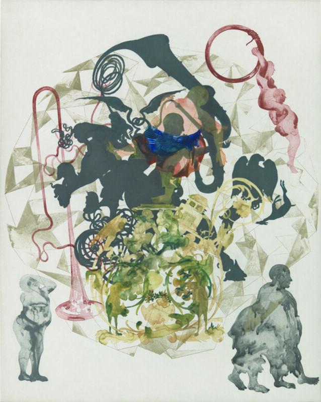 Shahzia Sikander, 'Orbit', 2012, Print, Color direct gravure, Crown Point Press