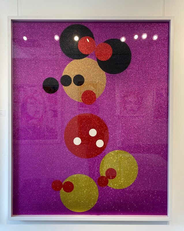 Damien Hirst, 'Minnie (Large)', 2016, Print, Screenprint in colors with glitter on heavy wove paper, Fine Art Mia