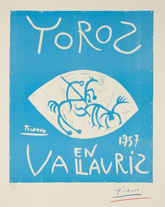 Pablo Picasso, 'Toros (Bulls)', 1957, Print, Linocut in colors, on wove paper, with full margins, Phillips
