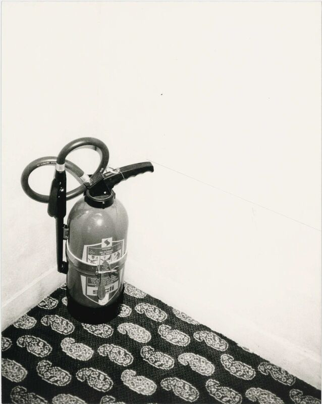 Andy Warhol, 'Fire Extinguisher ', 1980s, Photography, Gelatin silver print, Hedges Projects