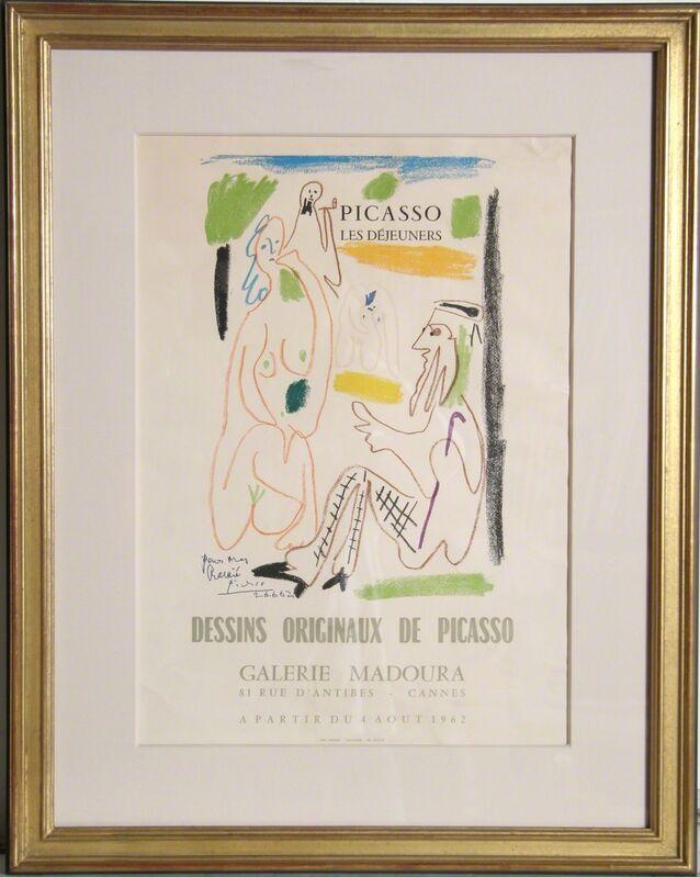 Pablo Picasso, 'Les Dejeuners Dessins Originaux de Picasso', 1962, Ephemera or Merchandise, Typographic Printing in 13 Colors on Paper, RoGallery