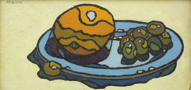 Cyril Mann, 'Orange and Grape', ca. 1955