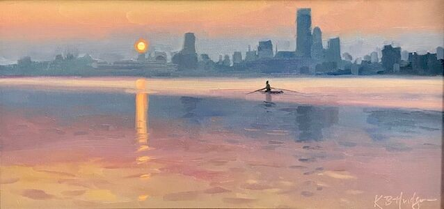 Kathleen Hudson, 'Early Morning on the River', ca. 2018