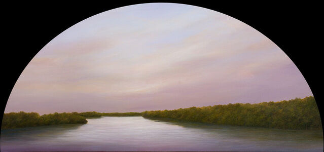 Ahzad Bogosian, 'West On The River', 2020