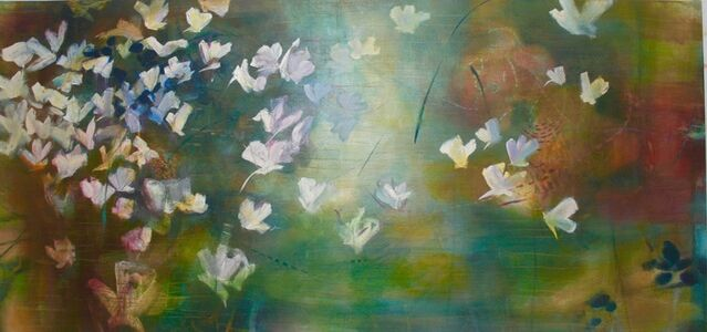 Janet Fredericks, 'Flowers That Sing and All But Fly'