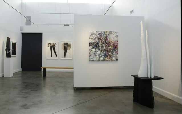 New Work by Adam Cohen, Cathy Daley and Edward Falkenberg, installation view