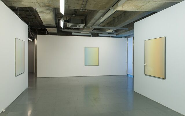 Chemical Gilding, Keep Calm, Galvanise, Pray, Gradient,  Ashes, Manifestation, Unequal, Dissatisfaction, Capitalise,  Incense Burner, Survival,  Agitation, Hit, Day Light. II | Chou Yu-cheng, installation view