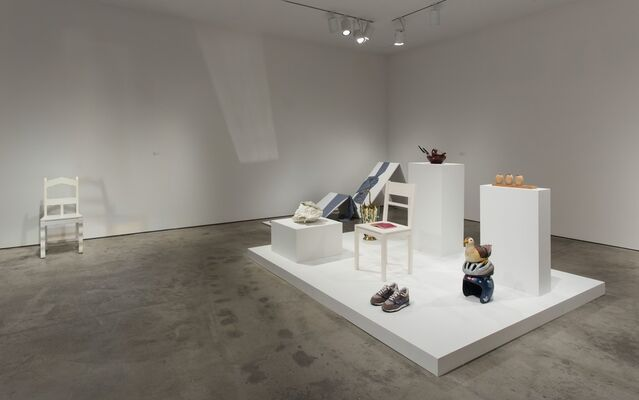 Sculpture from the Hammer Contemporary Collection, installation view