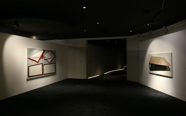 Painting = Box | Martin Wehmer Solo Exhibition, installation view