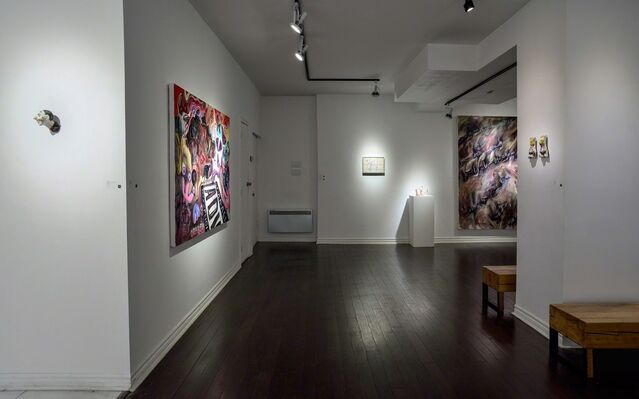 CRAFTY CUNTS   Ms. Teri + Cat Prince, installation view