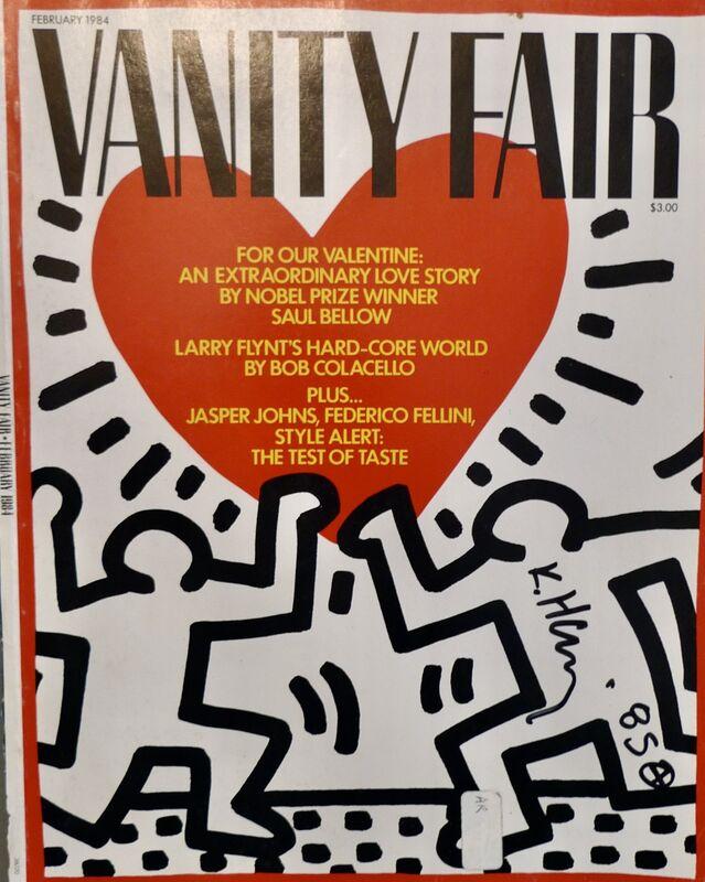 Keith Haring, 'Vanity Fair', 1984, Ephemera or Merchandise, Paper, Bengtsson Fine Art