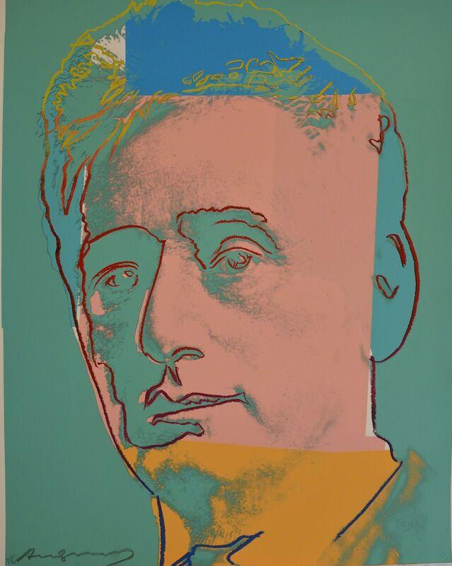 Andy Warhol, 'Louis Brandeis (FS II.230) Trial Proof', 1980, Print, Screenprint on Lenox Museum Board, Revolver Gallery