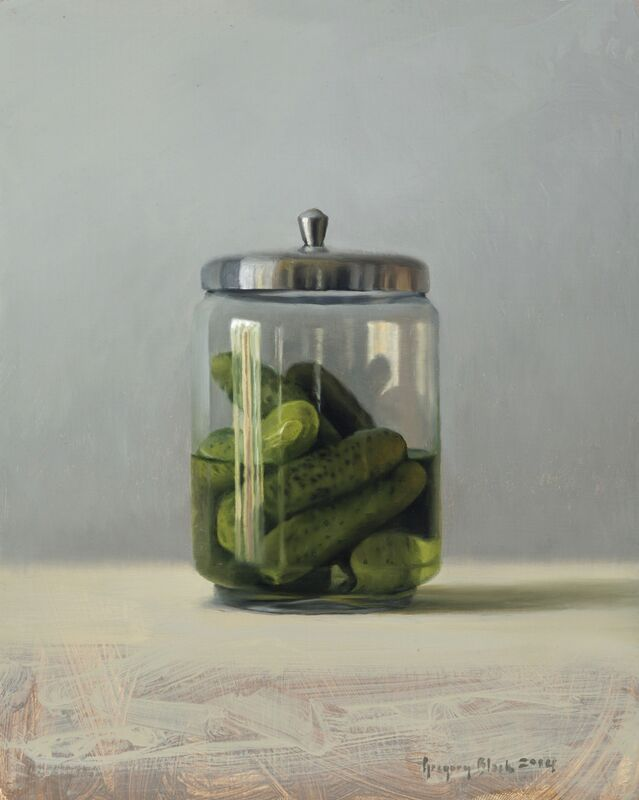 Gregory Block, 'Pickles', 2014, Painting, Oil, Gallery 1261