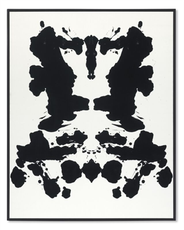 Andy Warhol, 'Rorschach', Synthetic polymer and silkscreen ink on canvas, Christie's