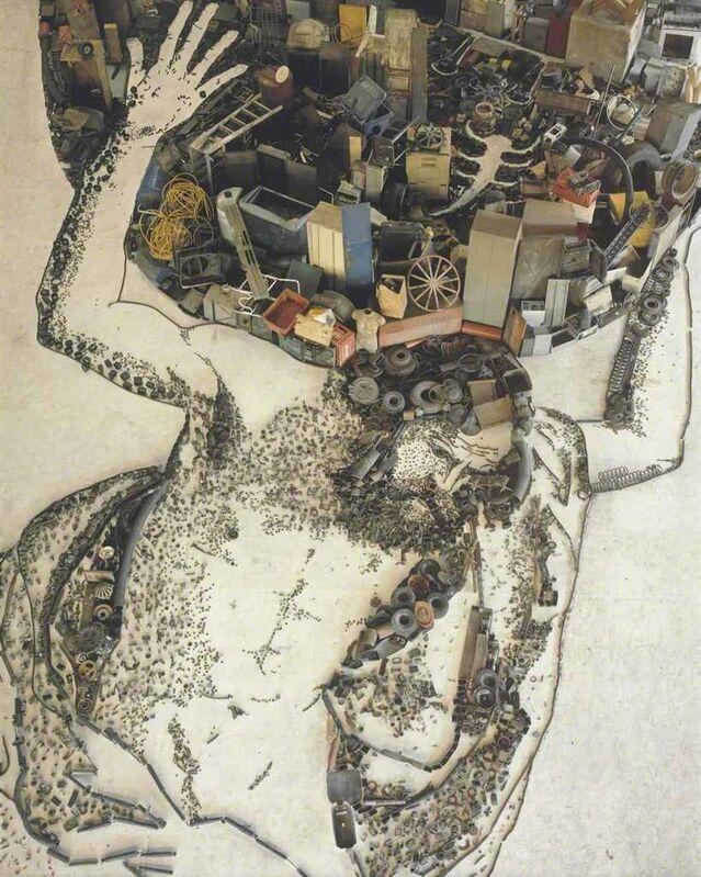 Vik Muniz, 'Atlas, after Giovanni Francesco Barbieri (Il Guercino) (Pictures of Junk)', 2007, Photography, Chromogenic print, Corridor Contemporary