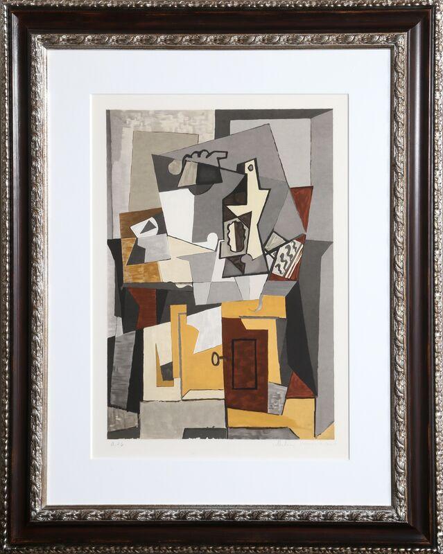 Pablo Picasso, 'Nature Morte a la porte et a la clef, 5-C', 1979-1982, Print, Lithograph on Arches, RoGallery