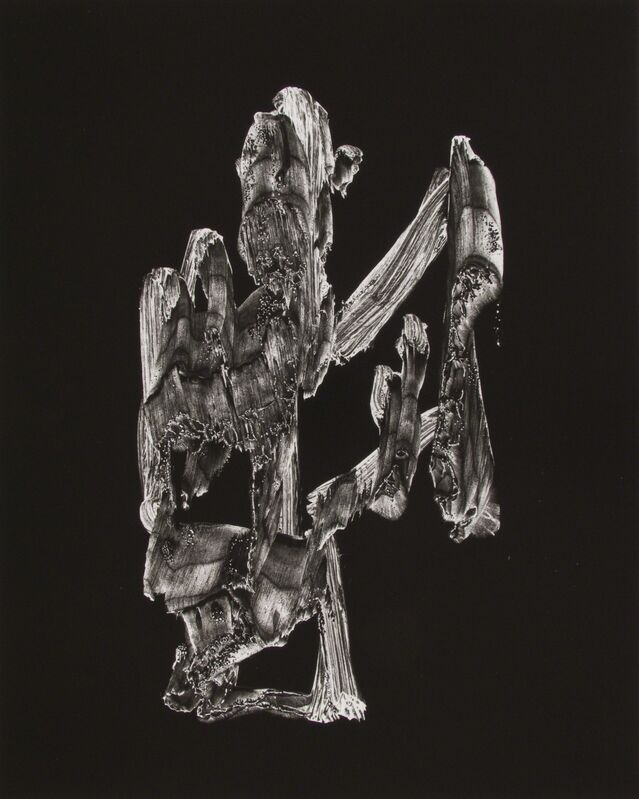 Frederick Sommer, 'Untitled (Paint on Cellophane)', 1957, Photography, Gelatin silver print, printed c. 1957, Bruce Silverstein Gallery