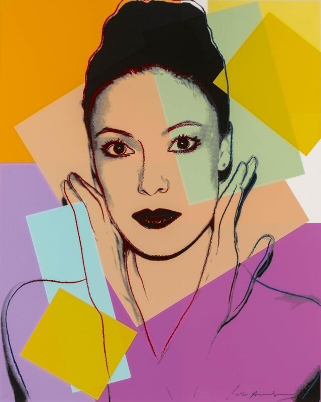 Andy Warhol, 'Karen Kain', 1980, Print, Colour silkscreen on Lenox museum board, Van Ham